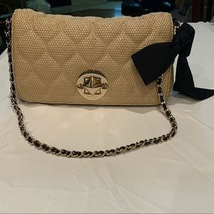 Mint condition Kate Spade should bag with Brass
